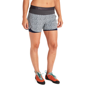 Marmot Pulse Shorts Women bright steel micro confetti/dark steel